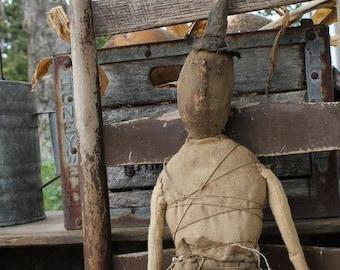 Dirty Sally - E-PATTERN -  Primitive Doll by Cinnamon Creek Folk Art