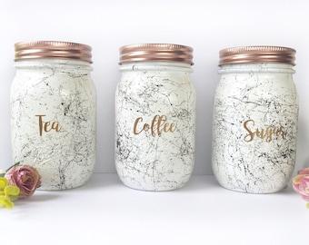 Gold Canister Jar Etsy