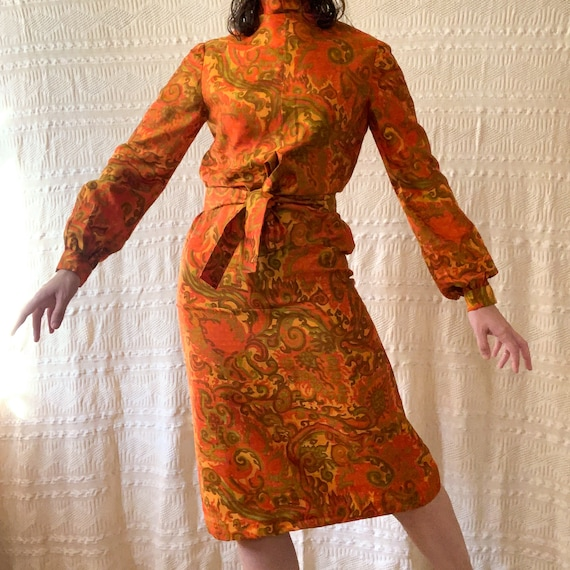 Psychedelic 60's Dress - image 2