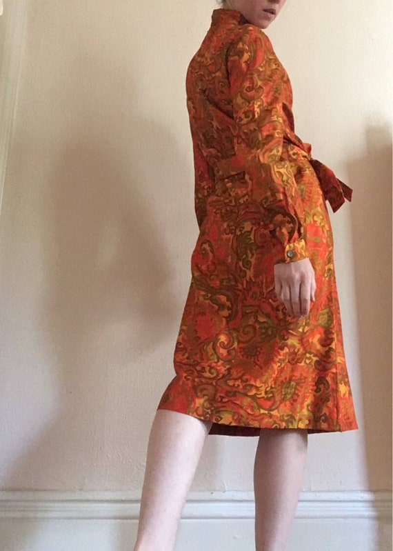 Psychedelic 60's Dress - image 3