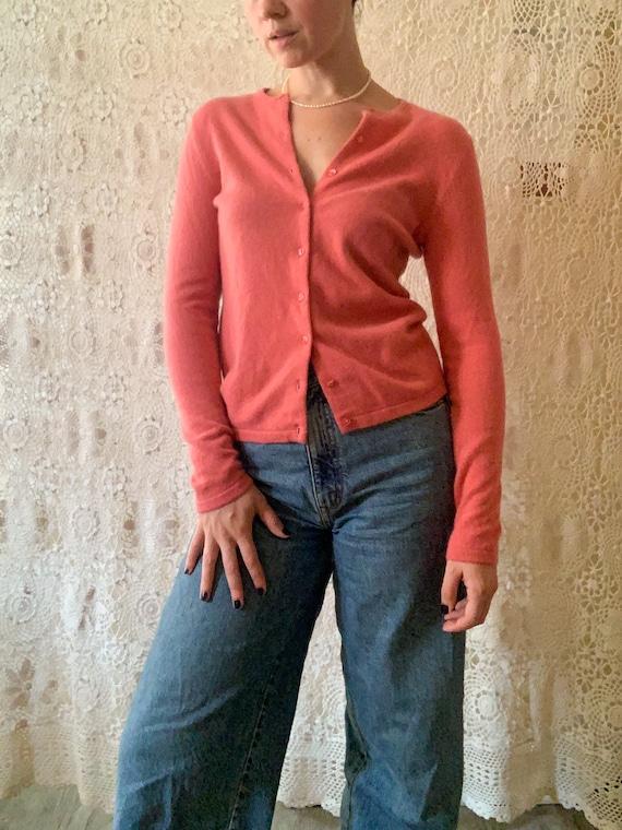 Cupid Pink Cashmere Cardigan