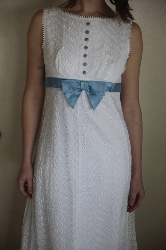 Sixties Eyelet Princess Dress