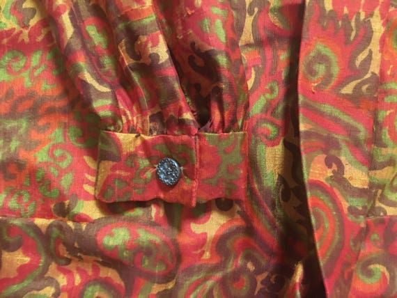 Psychedelic 60's Dress - image 6