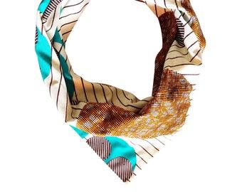 "Headwrap/Turban/Bandeau/Wrap ""James B."" // WAX / 100% Coton // accessoire coiffure facile // Collection MAX PE/17"