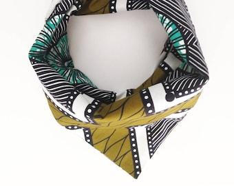"Headwrap/Turban/Bandeau/Wrap ""Jungle Boogie"" // WAX / 100% Coton // accessoire coiffure facile // Collection MAX PE/17"