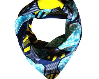 "Headwrap/Turban/Bandeau/Wrap ""Donny H."" // WAX / 100% Coton // accessoire coiffure facile // Collection MAX PE/17"