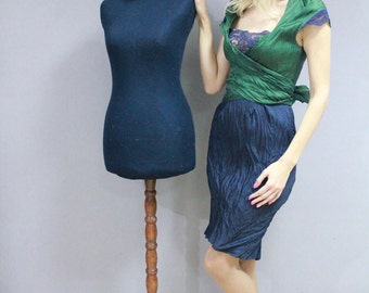 Elegant feminine dress in aesthetics Vintage