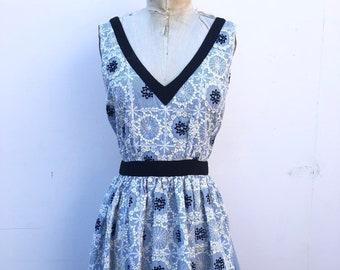 1994426fcccf Vintage Moschino Baby Blue Summer Dress