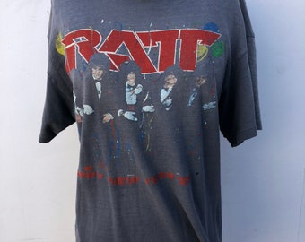 0c1851be57b1 Vintage Authentic Ratt Band Shirt. AmericanVintageusaco