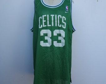 803fb10f4 Celtics 33 Bird Vintage Jersey