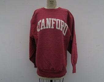 ee2cabe50 0918 - Vintage - STANFORD - Crewneck Sweater