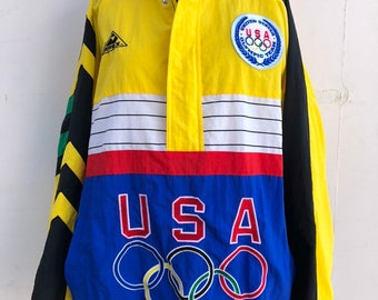 6c7a168d74c26 Vintage Authentic United States Olympic Team Jacket