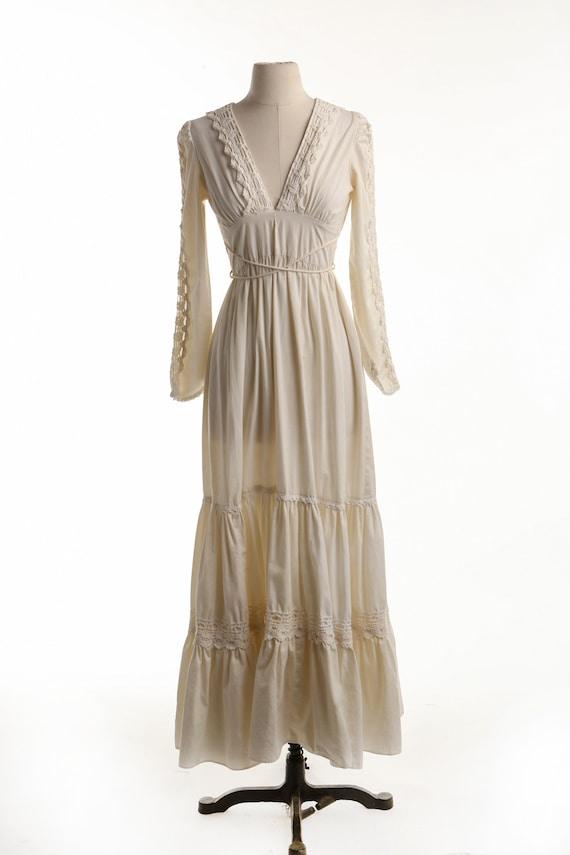 Gunne Sax Dress Long Prairie Dress - image 2