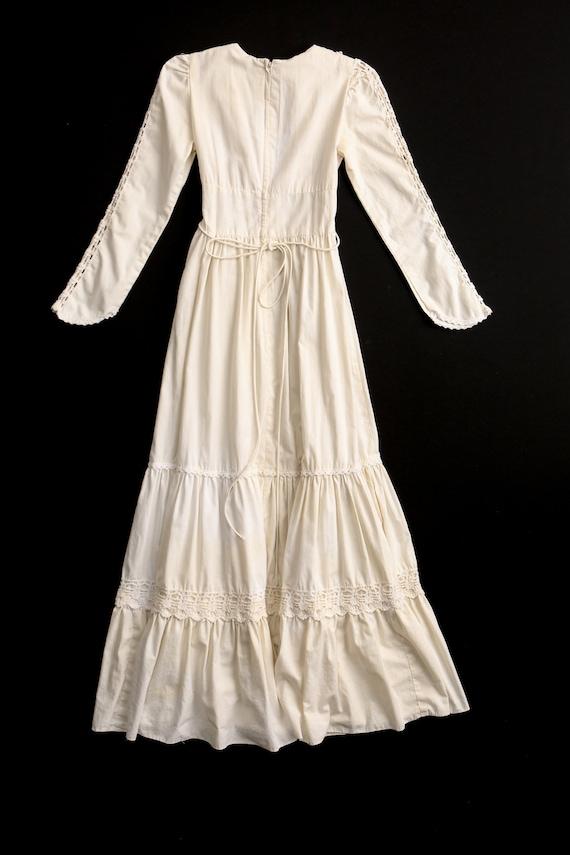 Gunne Sax Dress Long Prairie Dress - image 7