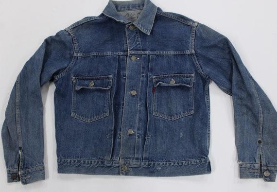 Vintage Levi's Denim Jacket. Type 2. Big E. Two Po