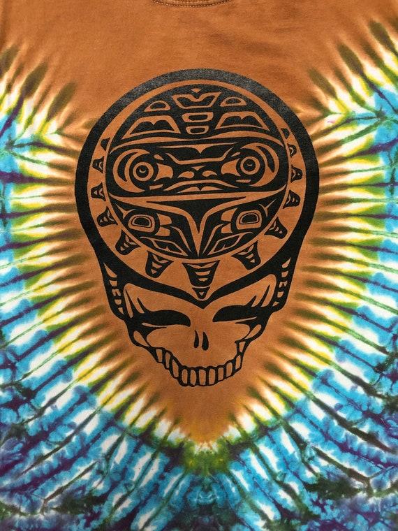Tie Dye Graphic Grateful Dead T-shirt - image 3