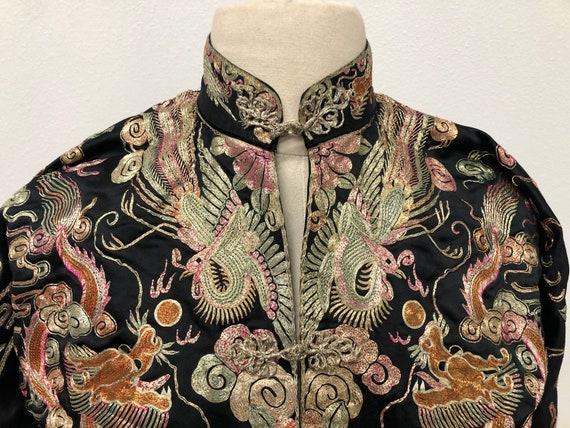 Vintage Cheongsam Embroidered Jacket