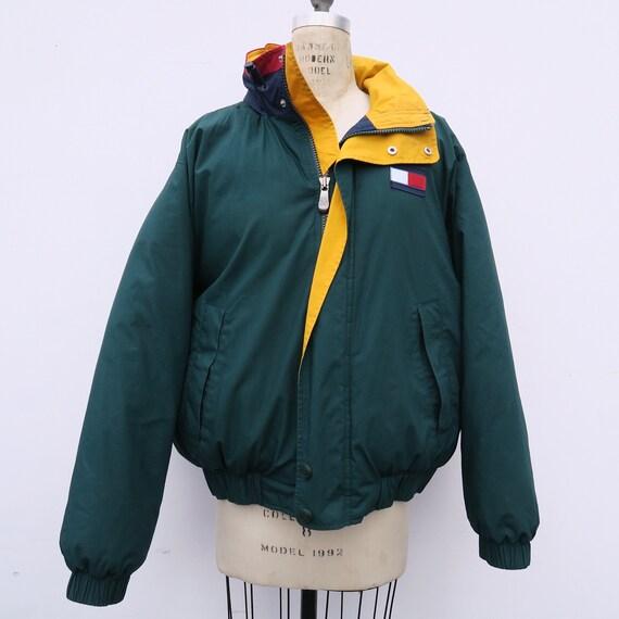 0884 90s Vintage Tommy Hilfiger Bomber Windbreaker