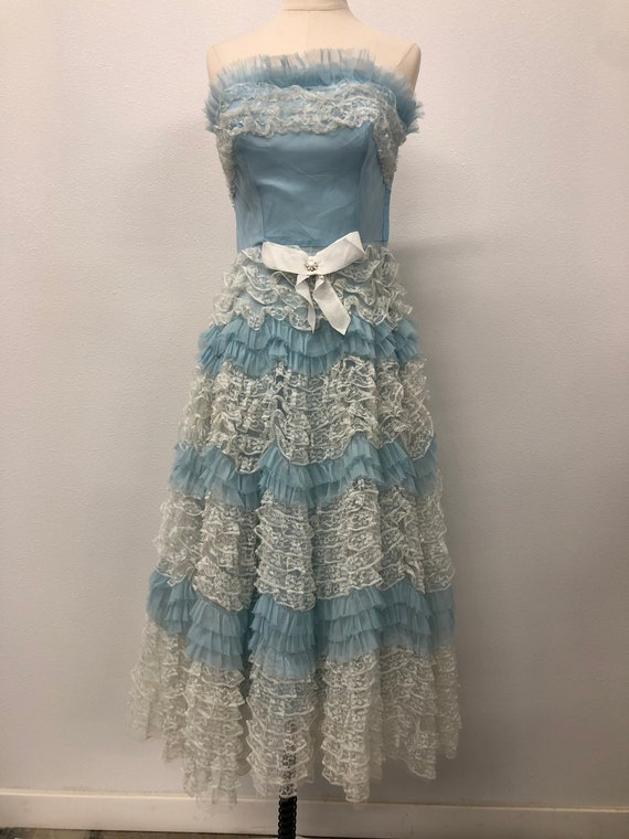 Vintage Women Ball Gown Dress