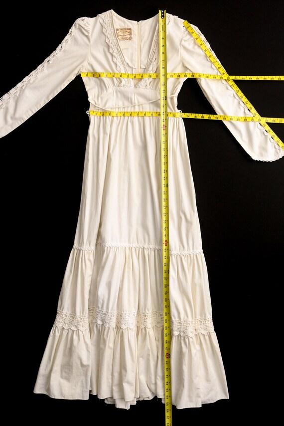Gunne Sax Dress Long Prairie Dress - image 6