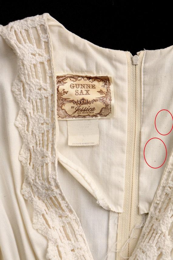 Gunne Sax Dress Long Prairie Dress - image 10