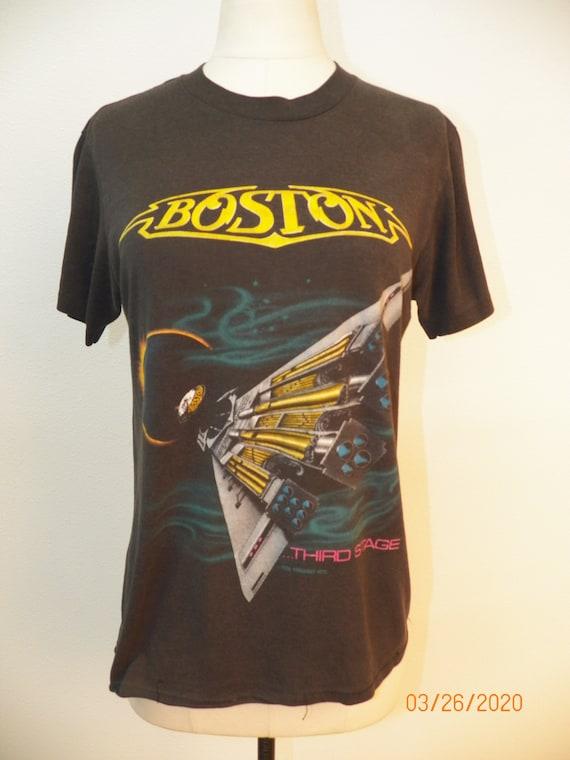 1987 Tour Boston Graphic T-shirt