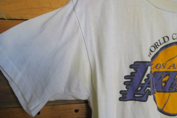 0489 - 1987 - Champions T du monde - Lakers - Show Case - T Champions shirt 532127
