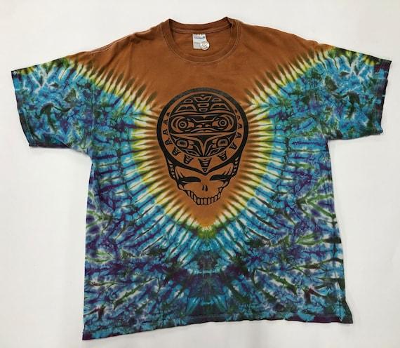 Tie Dye Graphic Grateful Dead T-shirt - image 1