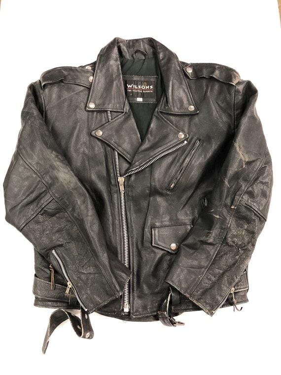 Men's Motorcycle Leather Jacket
