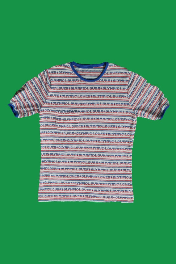 Olympic Lover / Graphic T-shirt / 70's