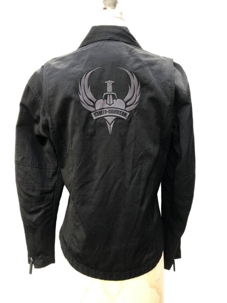 Vintage Harley Davidson Womens Biker Jacket Size Small