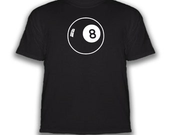 8 Ball All Over Adult T-Shirt