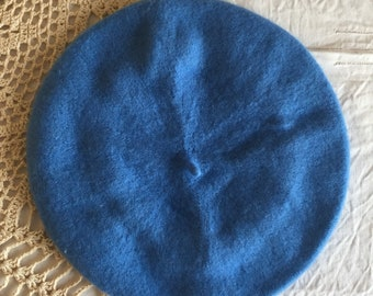 Beret (cerulean blue)