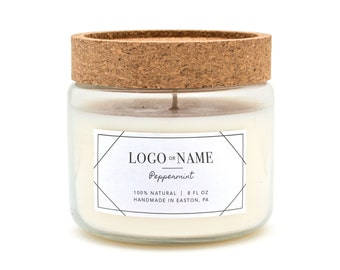 Labels for Candles, Custom Candle Label, labels for cosmetics, Cosmetic labels, labels for bath, labels for soap, custom packaging labels