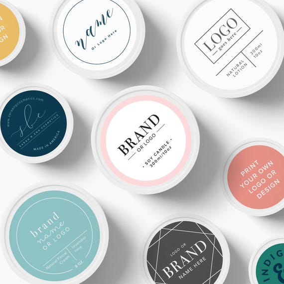 custom logo stickers custom logo labels custom product etsy