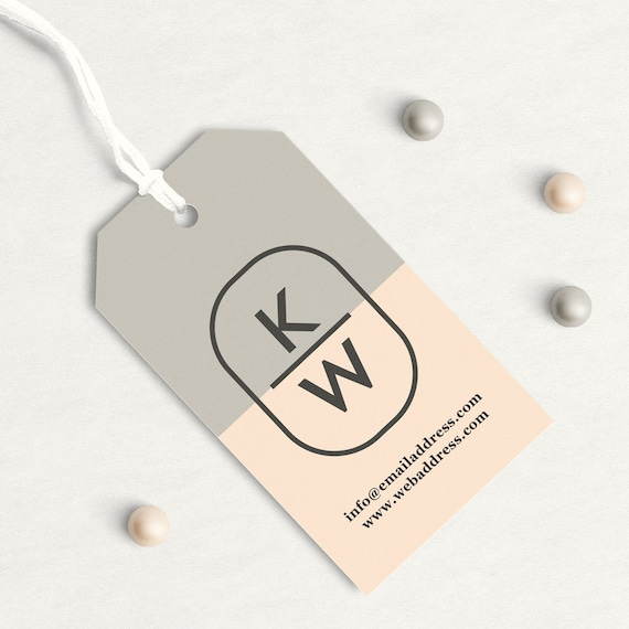 Custom hang tags custom clothing labels custom business card etsy image 0 reheart Gallery