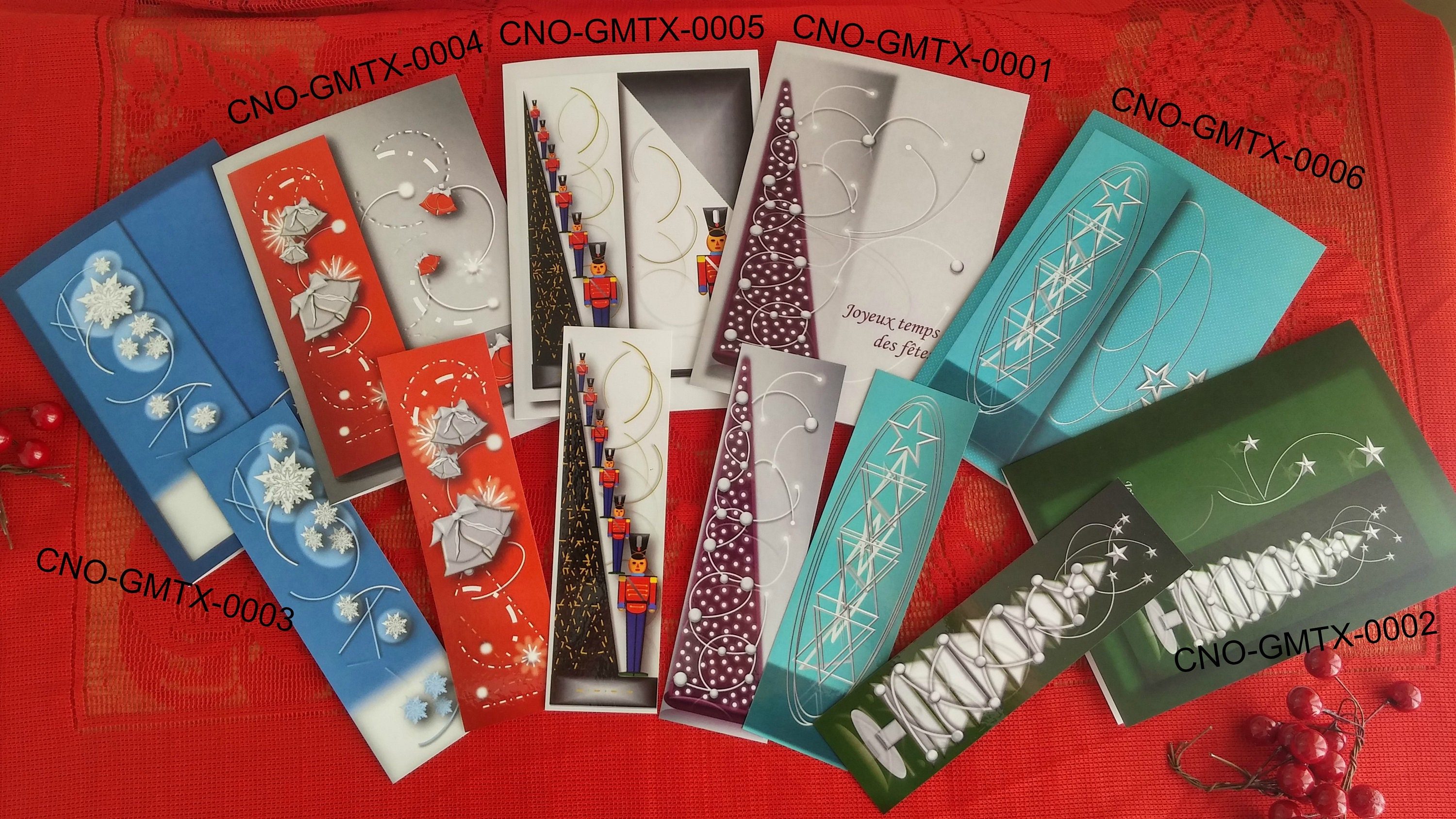 15 Christmasdiscount Cards 45cartes Greeting Cardsholiday Flakes