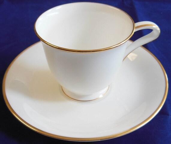 Vintage Demitasse  Espresso Cup and Saucer