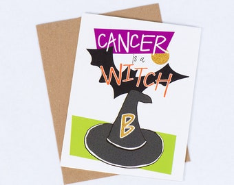Our 5 best selling greeting card colonoscopy etsy greeting card cancer witch 10 m4hsunfo