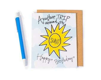Greeting Card: Sun Trip (Birthday)