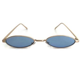 23c8cbfd8bb 90s Blue Sunglasses
