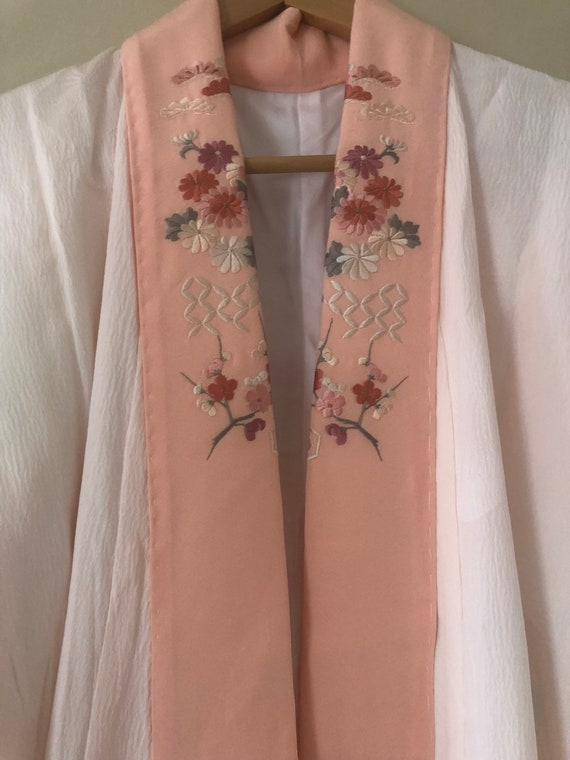 Pink Silk Kimono   Vintage Kimono   Antique 1930s… - image 4