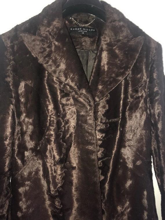 Fur Trouser Suit   Furry Pant Suit by Karen Millen