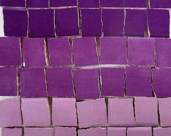 Ceramic Mosaic Tiles - Ombre Shades Of Purple Mosaic Tile Pieces Shades Of  Purple Tiles - 40 Pieces - For Mosaic Art   Mixed Media Art 1fe3b8f098c23