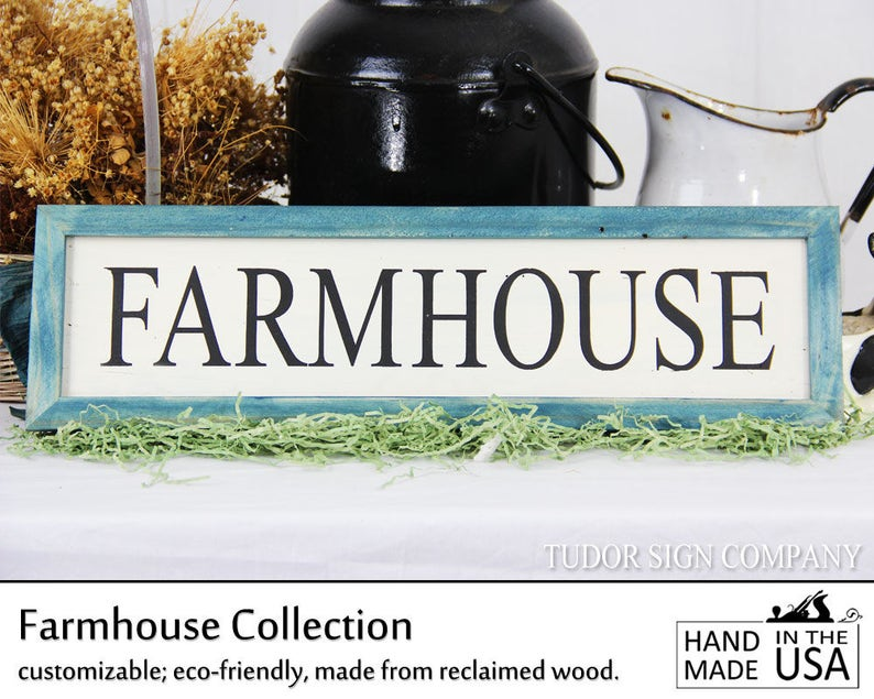 Farmhouse Sign Rustic Decor Farmhouse Decor French Country image 0
