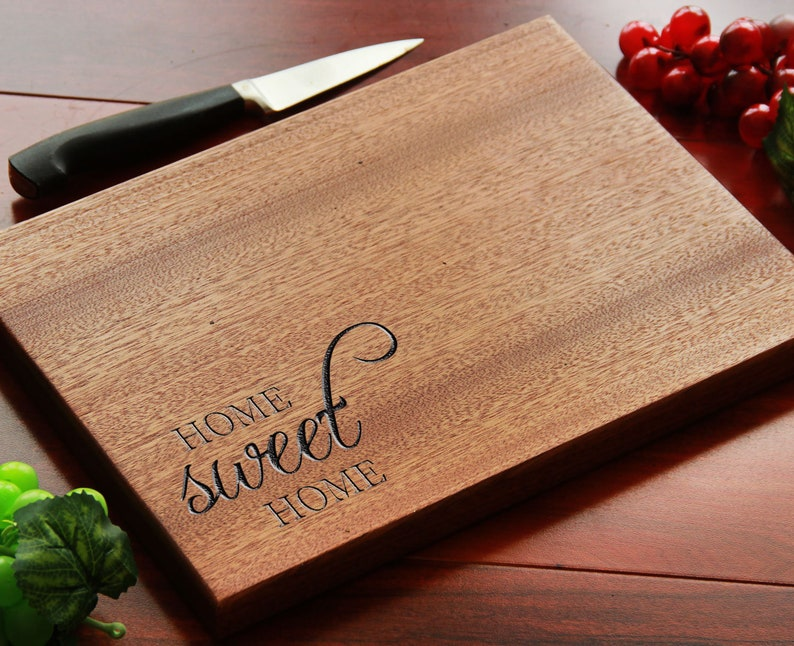 Personalized Engraved Cutting Board Charcuterie Serving image 0