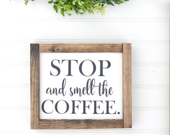 coffee sign - coffee bar sign - coffee lovers gift - wooden coffee sign for kitchen- housewarming gift - birthday gift - Christmas gift