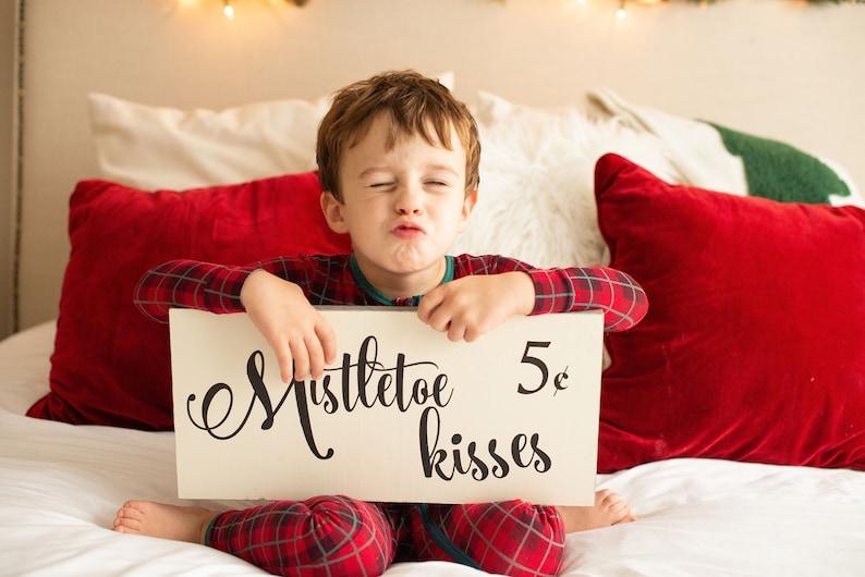 Christmas sign mantel wood signs sayings rustic Christmas image 0