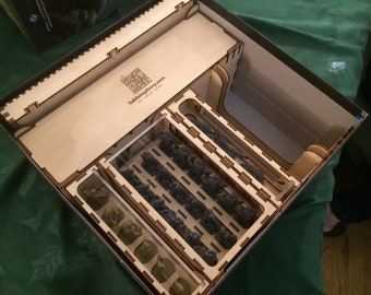 Journeys In Middle Earth organizer insert –– with optional Shadowed Path storage