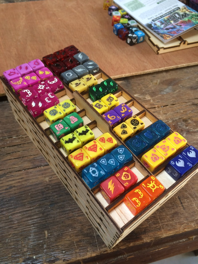 Stacking organizer trays for Dice Masters or Quarriors image 0